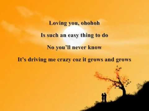 LOVING YOU BY NINA LYRICS