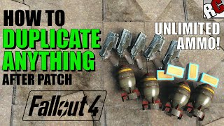 Fallout 4   How to Get Unlimited Ammo AFTER PATCH! - Dogmeat Duplication Exploit (Fallout 4 Exploit)