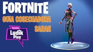 NINJA SARAH REAPDORA ? FORTNITE SAVE THE WORLD Spanish GUIA