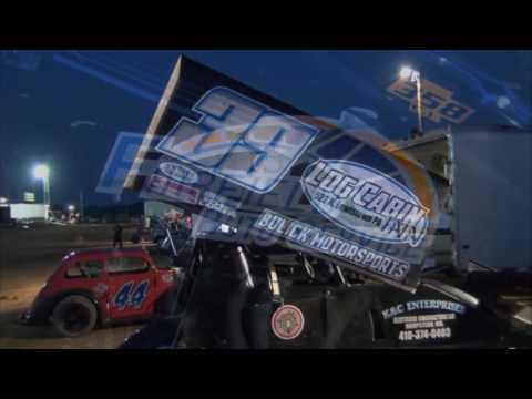Trail-Way Speedway 358 Sprint Car Highlights 07-29-16