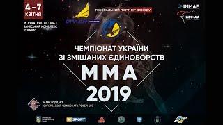 Чемпіонат України зі змішаних єдиноборств ММА 2019   День 1   Октагон 2