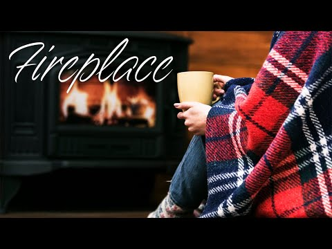 Christmas Fireplace - Relaxing Jazz For Winter Christmas Mood