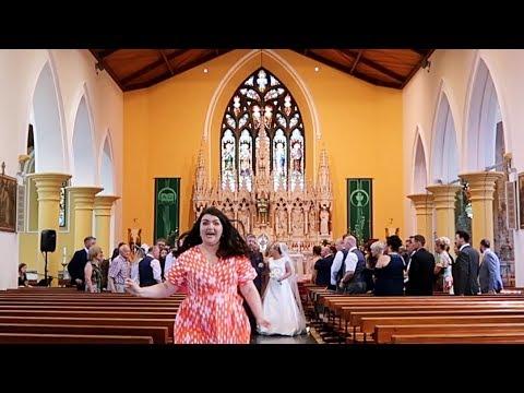 MY FIRST WEDDING VIDEO!!