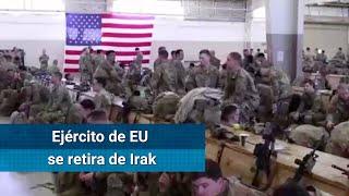 Ejército de EU anuncia a Irak que se prepara para