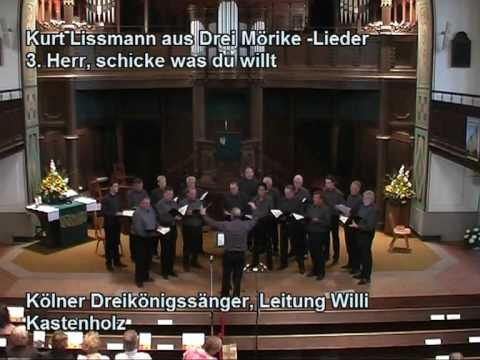 Kurt Lissmann Herr, schicke was du willt World Pre...