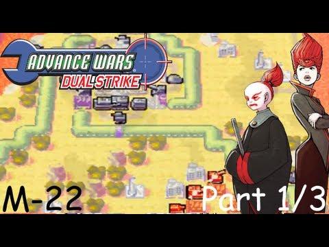 Advance Wars: Dual Strike - Mission 22 (Crystal Calamity) [S] [P1/3]