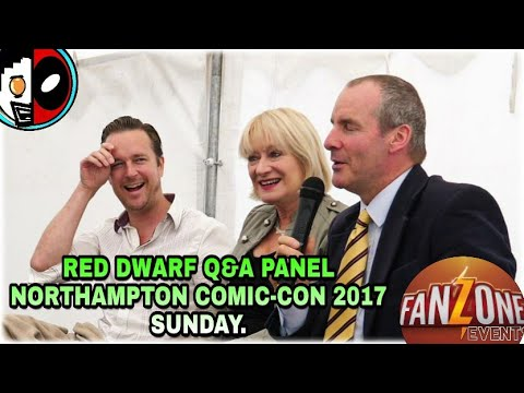 Red Dwarf Q&A Panel Northampton Comic-Con 2017 Sunday