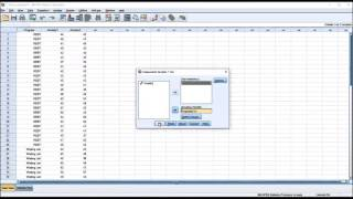 Comparison of Independent-Samples T Test and Paired-Samples T Test using SPSS