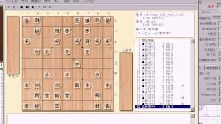K-shogi (研究) VS bonanza 特別対局(非公式・倍速) 1/2