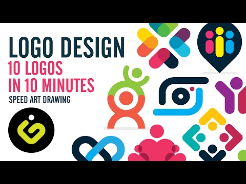 Logo Design, 10 Simple Logos In 10 Minutes