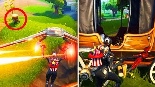 LOOK WHAT JUST APPEARED in Moisty Mire.. SEASON 5 THEME CONFIRMED!! | Fortnite: Battle Royale