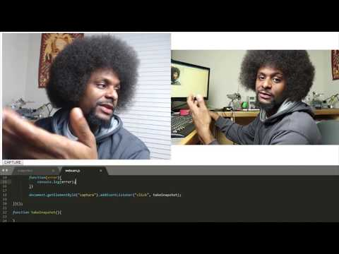 Javascript Camera Tutorial | How To Access Camera In Web Browser