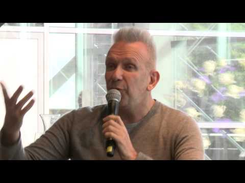 Interview with Jean Paul Gaultier by Thierry Loriot in the Kunsthal Rotterdam