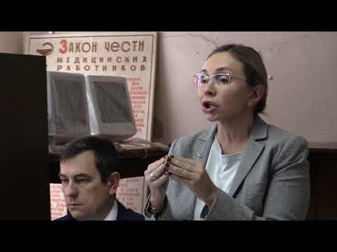 Владимирский чиновник Чекунова о разваливающейся больнице в  Струнино