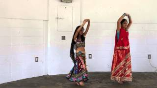 Manasvi and Saloni , Folk Dance in MPMM-Holi 2015