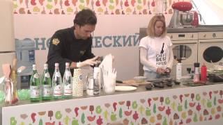 Федор Жаринов для фестиваля «ОДА! ЕДА!» Москва, Парк Горького, 2015