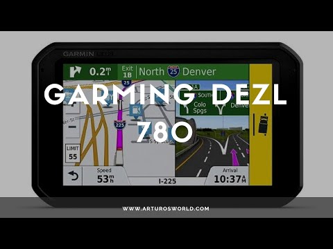 Garmin DEZL 780 REVIEW