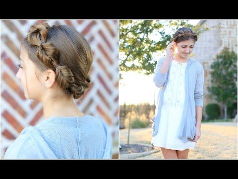 Faux Fishtail Crown Braid | Cute Girls Hairstyles