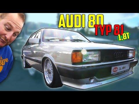 Diagnose: ZWILLING !  Audi 80 Typ 81 - 1,8T MOTOR SWAP