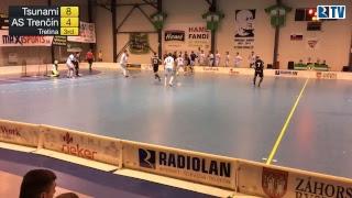9. 4. 2017 MEX 2. zápas finále play off Tsunami Záhorská Bystrica - Florbalový klub AS Trenčín