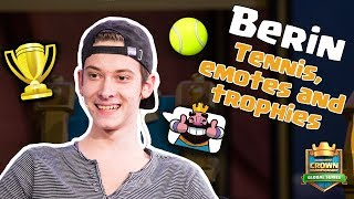 Clash Royale: Berin's Thoughts on Tennis, Emotes, and Trophies