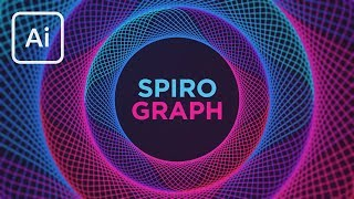 Create the Spirograph Effect in Illustrator