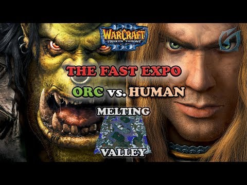 Grubby | Warcraft 3 The Frozen Throne | Orc v HU - The Fast Expo - Melting Valley