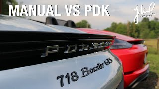 Porsche 718 Boxster GTS - Manual VS PDK - Review | EP 033