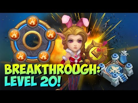 Candy Kane BreakThrough Lvl 20 Arena STUNNING Performance! Castle Clash