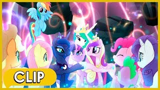 The Storm King's Defeat / Saving Equestria - My Little Pony: The Movie [HD] thumbnail
