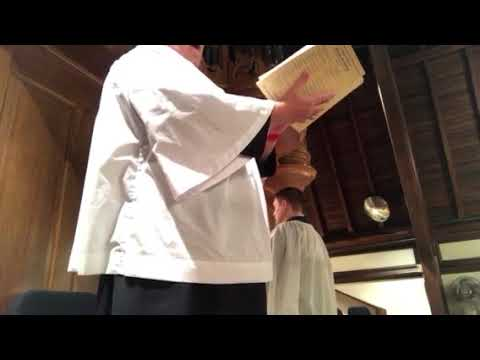 Ash Wednesday, February 14, 2018 at The Episcopal Church of The Advent