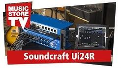 Soundcraft Ui24R Digital Mixer und Recording System (deutsch)