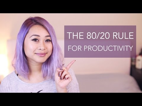 Productivity Series: The Pareto Principle | 80/20 Rule