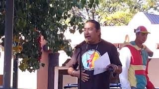 INDIGENOUS PEOPLES DAY 2019 - SANTA FE, NM  Steve LaRance Hoop Dancing  Lightning Boy Foundation