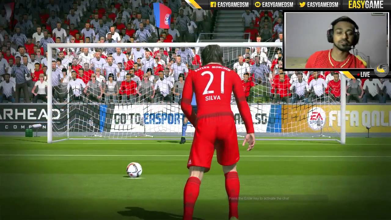 Fifa Online  Impact Engine Basic Penalty Tutorial Controller Youtube