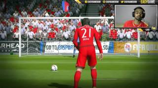 FIFA Online 3 - IMPACT Engine Basic Penalty Tutorial (CONTROLLER)