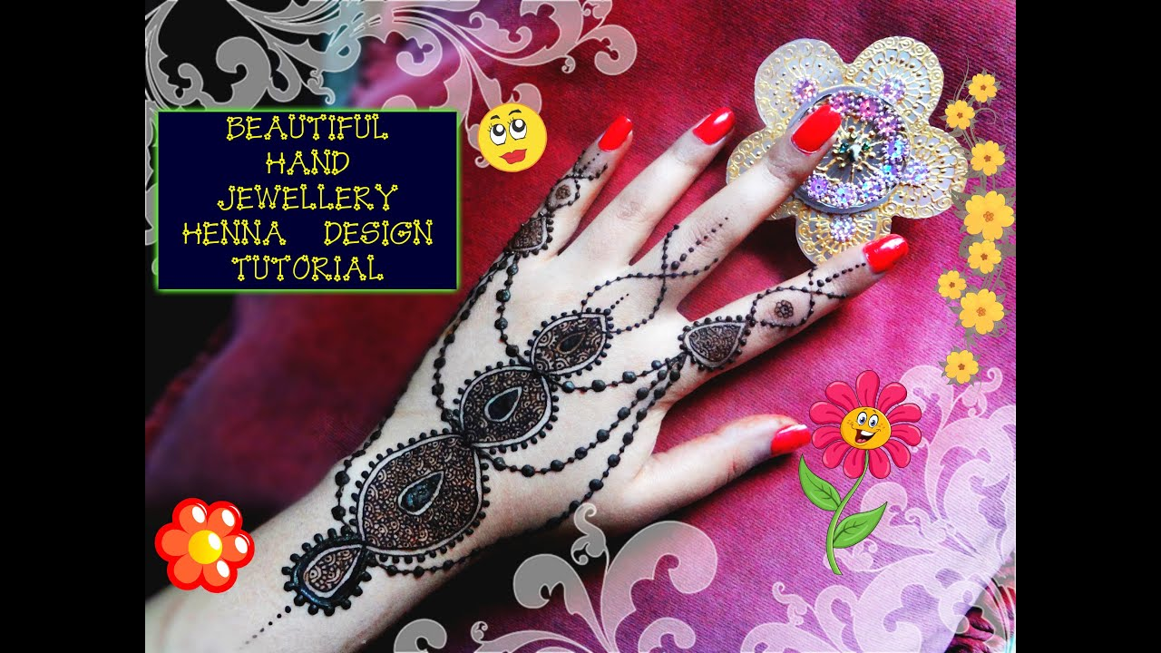 Beautiful Henna Mehndi Jewellery : New henna mehndi jewellery designs makedes