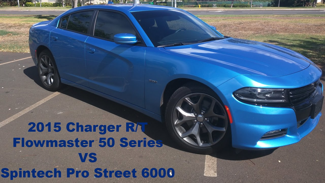 2015 charger r t flowmaster 50 series vs spintech pr doovi. Black Bedroom Furniture Sets. Home Design Ideas