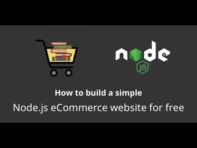 NodeJS / Express / MongoDB - Build a Shopping Cart Last Video #54 Adding text and headings to pages