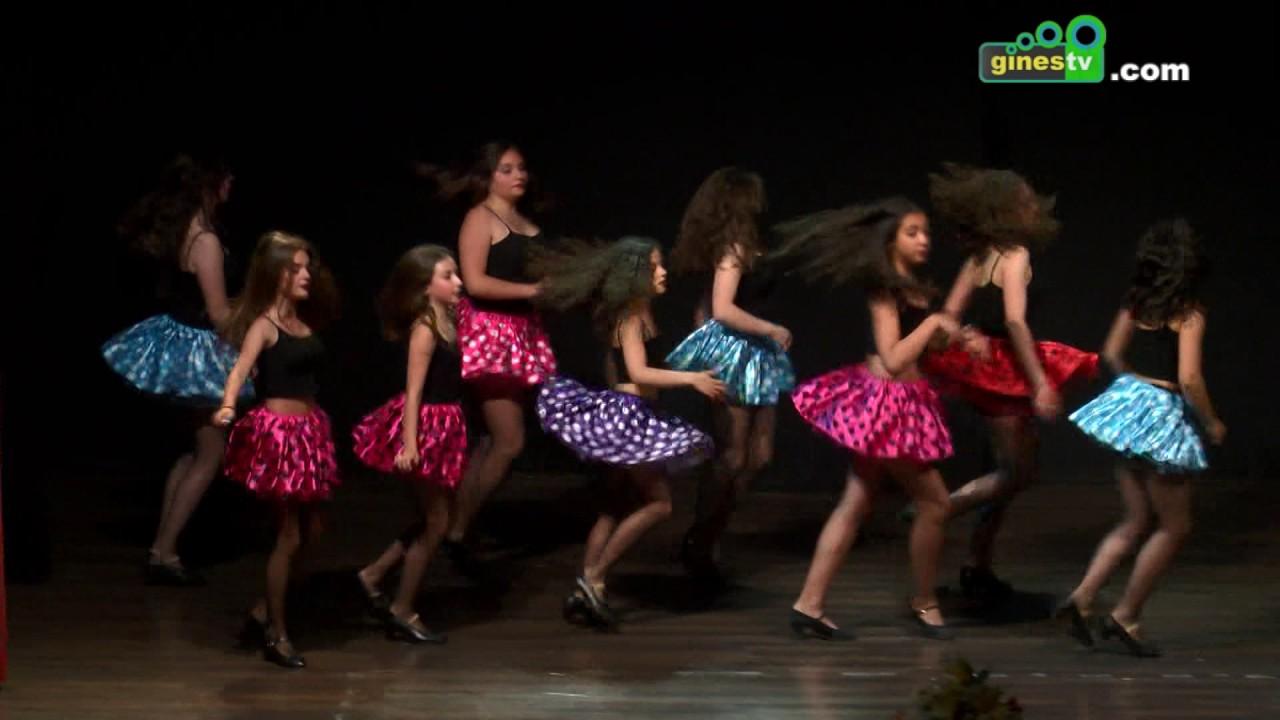El Encuentro de Escuelas Municipales de Danza congregó en Gines a un centenar de participantes