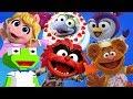 Muppet Babies Mini Arcade  Games Puzzles Cake Cooking Compilation Disney Junior Kids Apps