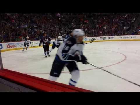Colorado Avalanche vs. Winnipeg Jets 10/27/13 - Pepsi Center
