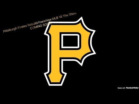 Introduction To Our Upcoming Pittsburgh Pirates Franchise!!! COMING SOON!