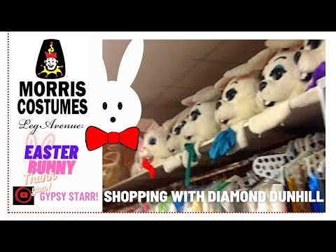 Easter Bunny MORRIS COSTUMES: Gypsy Starr   Charlotte Hot Minute With Diamond Dunhill