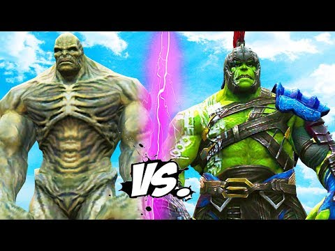 GLADIATOR HULK vs ABOMINATION - Epic Battle