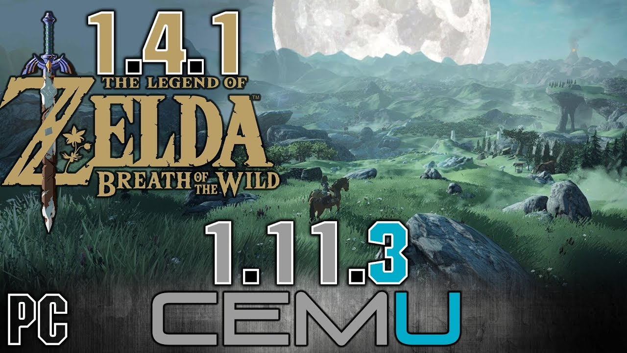 zelda breath of the wild cemu 1.11.3