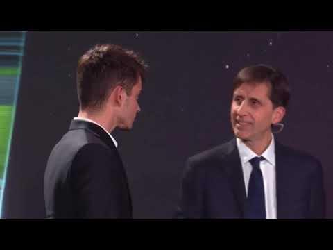Шарль на Gazzetta Sports Awards