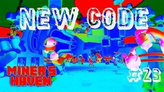 NOUVEAU CODE POUR 3 INFERNO BOXES!!! ROBLOX MINER'S HAVEN REZ!!! #23