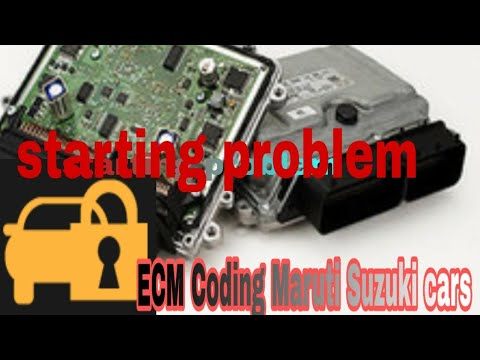 ECM Coding Maruti Suzuki Omni immobilizer light blinking