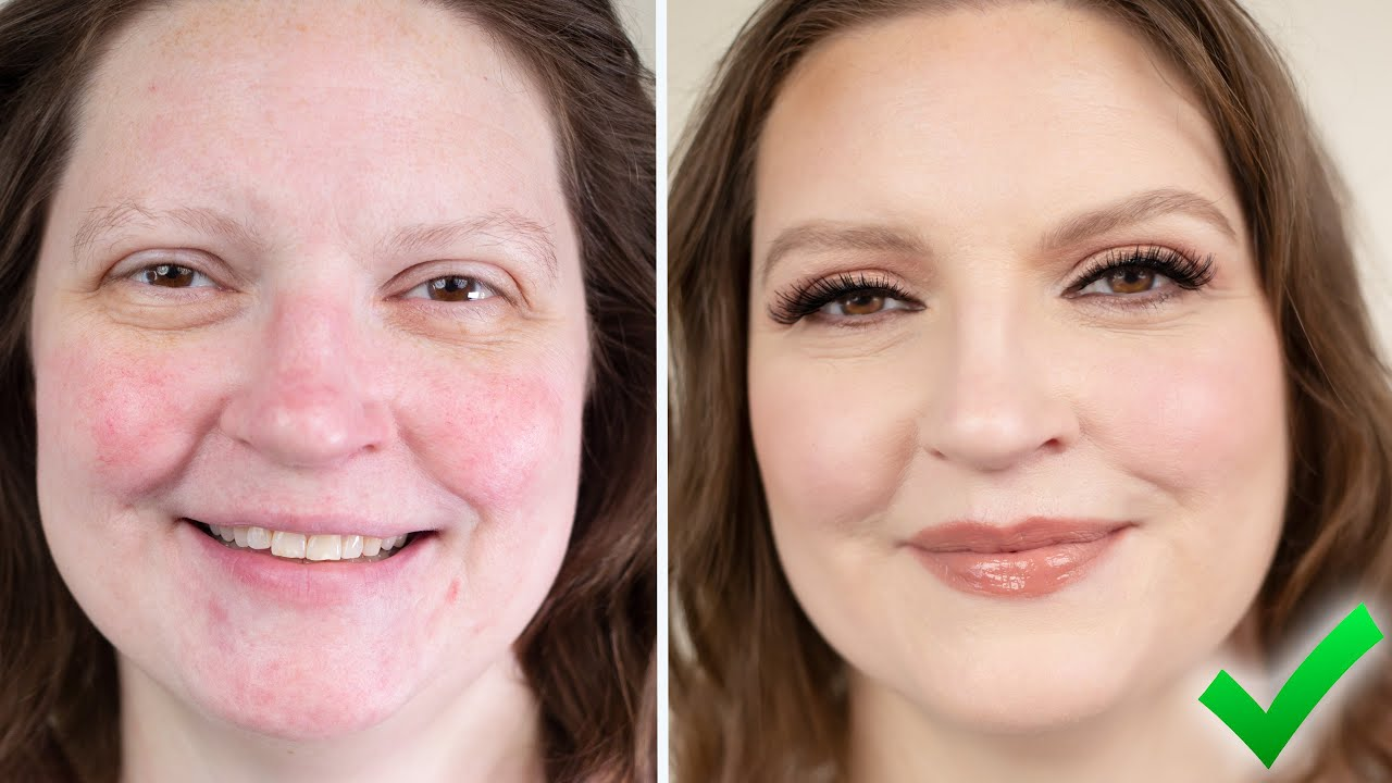 MAKEUP FOR ROSACEA! - YouTube